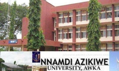 UNIZIK 2017/2018 Professional Diploma in Journalism Admission Form