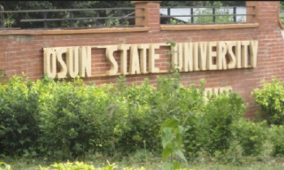 UNIOSUN 2017/2018 Revised Academic Calendar