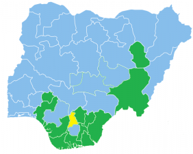 Current Nigerian Governors, Deputies & Political Party in 2018